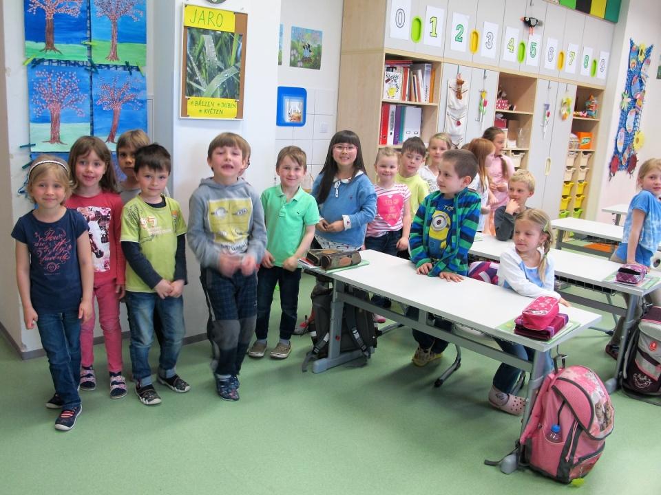 Návštěva předškoláků z MŠ OPUS